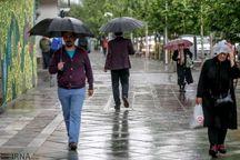 بارش نخستین باران پاییزی به هوای بوکان طراوت بخشید
