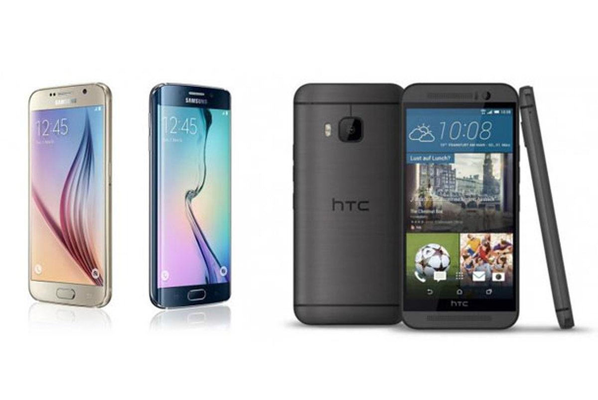 مقایسه Samsung Galaxy S6 و HTC One M9 +تصاویر