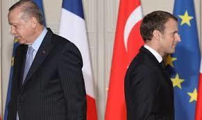 حمله تند اردوغان به رئیس جمهور فرانسه