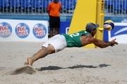 صعود تیم والیبال ساحلی به مرحله یکچهارم نهایی با برد مقابل قطر