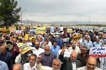 راهپیمایی سمنانی ها در حمایت از بیانیه شورای عالی امنیت ملی