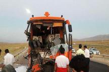 تصادف رانندگی در جاده اردستان به نائین 18 مصدوم داشت