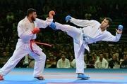 مربی تیم ملی کاراته : گنجزاده یک سرماخوردگی کوچک داشت