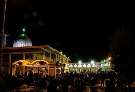 مراسم شب نوزدهم ماه مبارک رمضان امام زاده عزالدین (ع) مبارکه