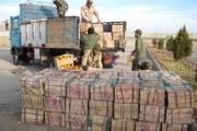 کامیون میوه خارجی قاچاق در داراب توقیف شد