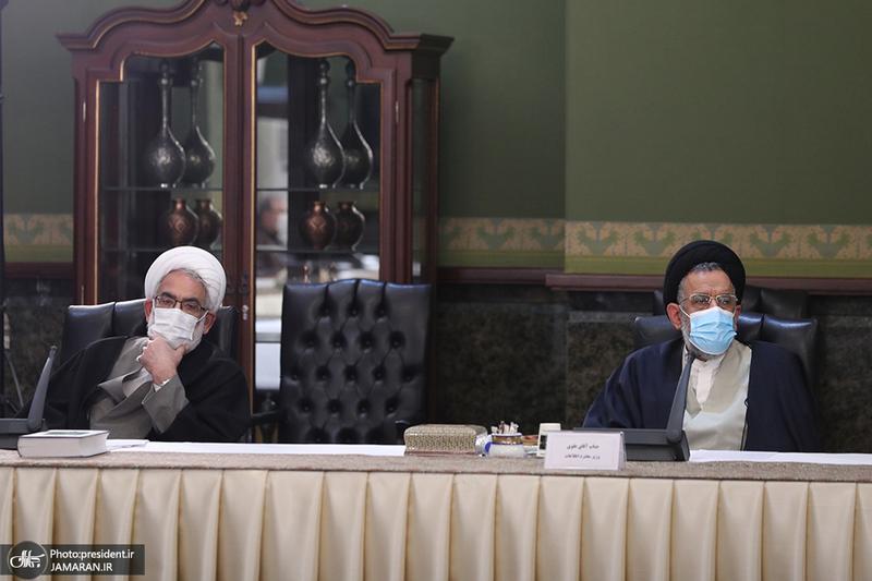 جلسه ستاد ملی مقابله با کرونا - 13 دی