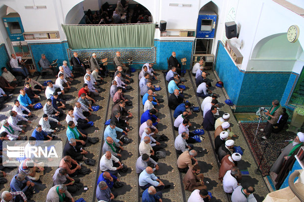 نماز عید غدیر در یزد برگزار شد