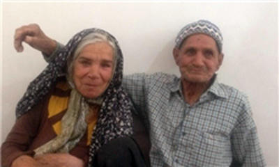 ازدواج مسن ترین عروس و داماد ایرانی در یزد/عکس