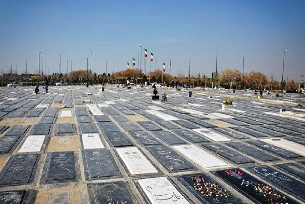 شلوغی وحشتناک مقابل غسالخانه بهشت زهرای تهران  + فیلم