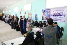 ۶۸ هزار نفر در حوزه انتخابیه دهلران به پای صندوق های رای رفتند