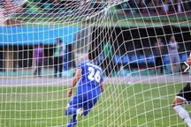 تیم فوتبال آلومینیوم اراک تیم کارون خرمشهر را شکست داد