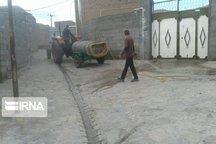 روستاهای استان سمنان در چهار مرحله علیه ویروس کرونا ضدعفونی شد