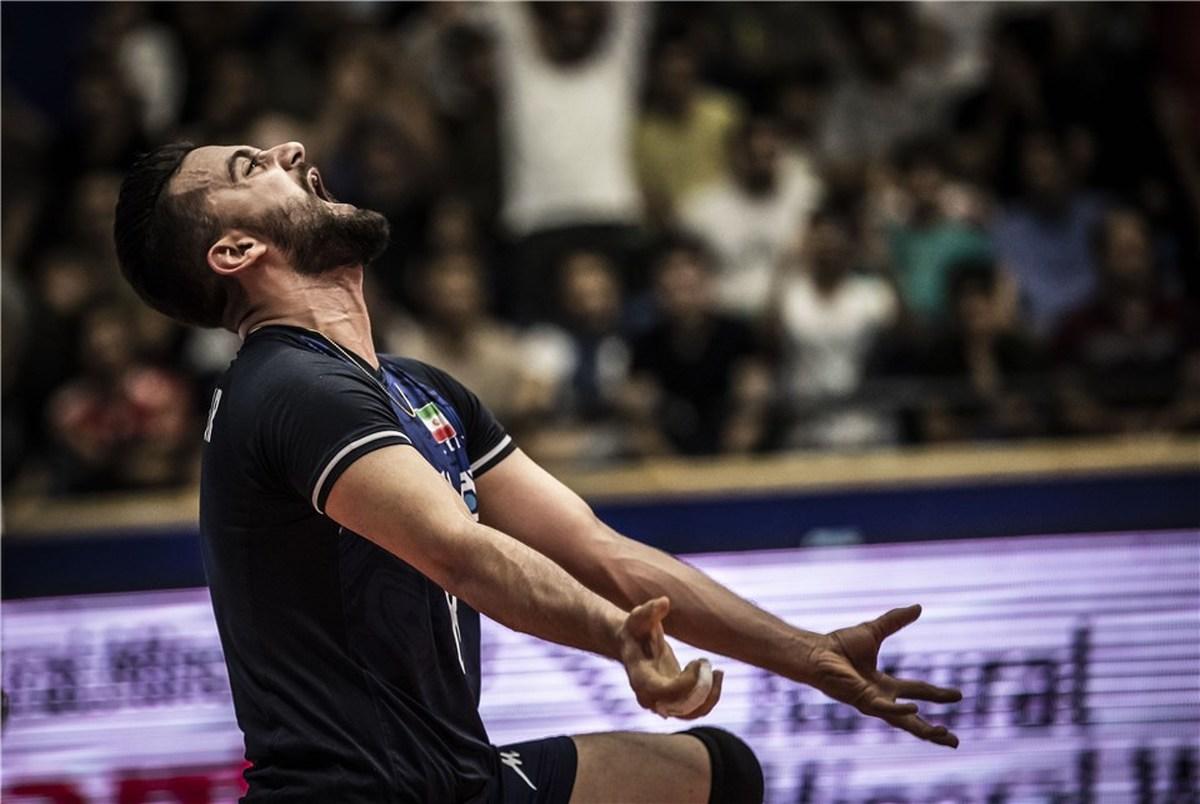 والیبالیست ایران بعد از خط خوردن از تیم ملی: خدا جای حق نشسته است