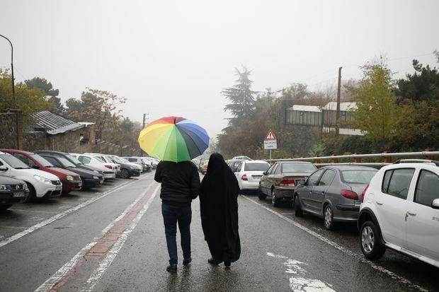هوای مازندران بارانی و سرد میشود
