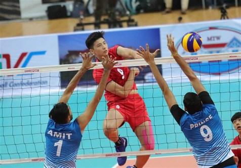 چین تایپه با غلبه بر هند قهرمان والیبال زیر ۲۳ سال آسیا شد