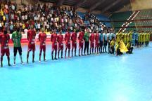 تیم فوتسال گیتی پسند اصفهان سن ایچ ساوه را شکست داد