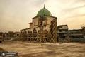 پایان مرحله نخست بازسازی مسجد بزرگ و تاریخی موصل + تصاویر