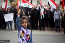 عکس/ تظاهرات سوری ها علیه به رسمیت شناختن حاکمیت رژیم صهیونیستی بر جولان