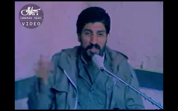 اجرای دیده نشده صادق آهنگران در حسینیه جماران در حضور رزمندگان اسلام