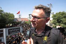 گردشگر ایتالیایی: عشق مردم ایران به امام حسین (علیه السلام) قابل توصیف نیست