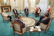 نشست «ابراهیم رییسی» رییس جمهور منتخب با 6 کاندیدای انتخابات 1400