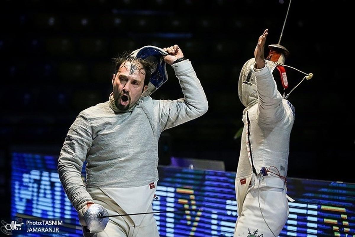 مخالفت پیمان فخری با پرچمداری یک شمشیرباز در المپیک