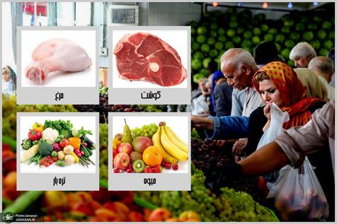 گرانی 23 درصدی قیمت مرغ طی یک سال + جدول