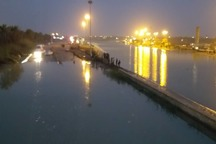رودخانه اروند صغیر در مینوشهر طغیان کرد