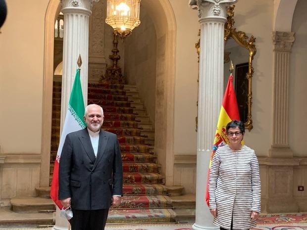 تلاش ظریف برای فعالسازی روابط اقتصادی ایران و اسپانیا