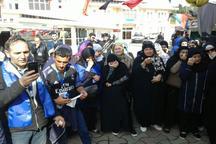 400 زائر خارجی اربعین با گذر از مرز آستارا عازم کربلا شدند