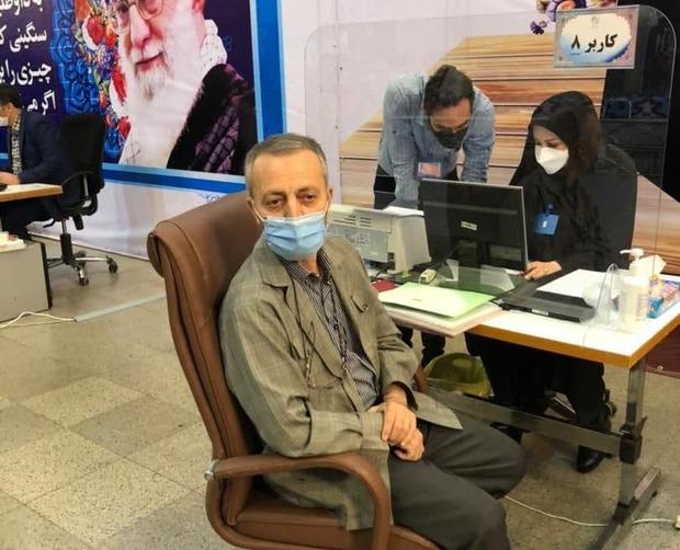 ثبت نام مسعود زریبافان در انتخابات ریاست جمهوری