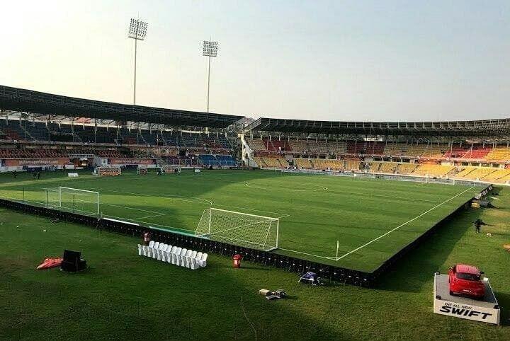 نمایی زیبا از ورزشگاه میزبان پرسپولیس در هند/عکس