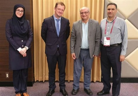 دیدار هادی رضایی با رئیس کمیته بینالمللی پارالمپیک