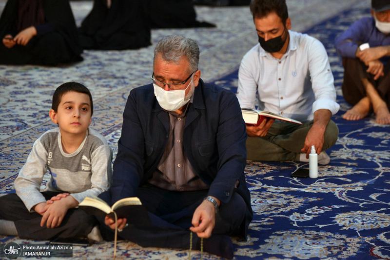مراسم دعای ندبه در حرم مطهر امام خمینی(س)
