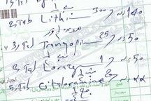 سرانه تجویز دارو در آذربایجان غربی 2.5 مورد در هر نسخه است