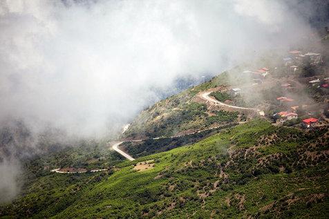 فیلبند، اقیانوسی از ابر در 200 کیلومتری تهران+ تصاویر