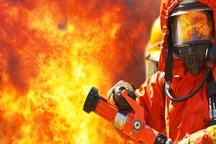 آتش سوزی در ناحیه صنعتی کارون در اهواز مهار شد