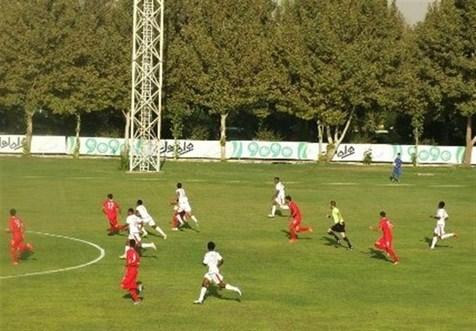 نخستین شکست نوجوانان فوتبال ایران در تورنمنت کافا