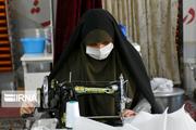 نیروهای جهادی روزانه ۹۰ هزار ماسک و دستکش در استان بوشهر تولید میکنند