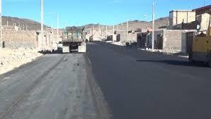 اجرای آسفالت معابر 33 روستای کهگیلویه