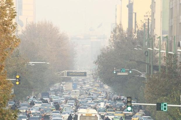 آلاینده های جوی در استان تهران افزایش پیدا می کند