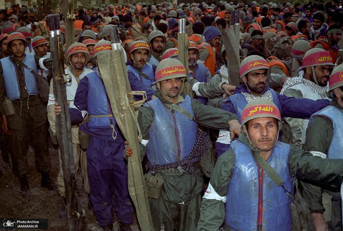 شور و شوق رزمندگان پیش از عزیمت به عملیات شکست حصر آبادان