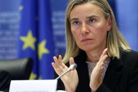 موگرینی: ما اروپاییها نمیتوانیم بپذیریم که یک قدرت خارجی بگوید با چه کشوری کار کنیم/ تلاش ما حفظ توافق با ایران در سال جدید است