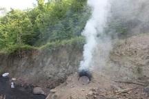 10 کوره زغال در جنگل های گچساران تخریب شد