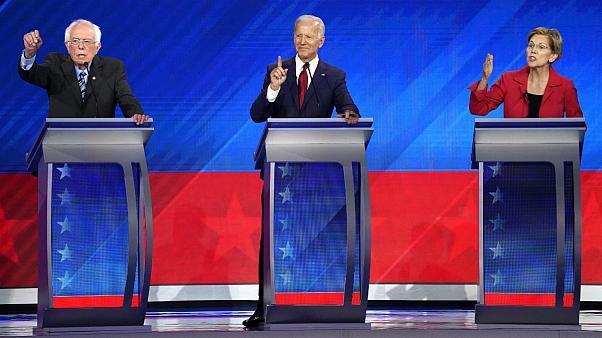 برندگان و بازندگان سومین مناظره کاندیداهای دموکرات آمریکا+عکس