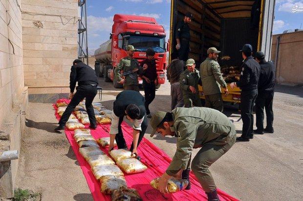 10 تن مواد مخدر در خوزستان کشف شد