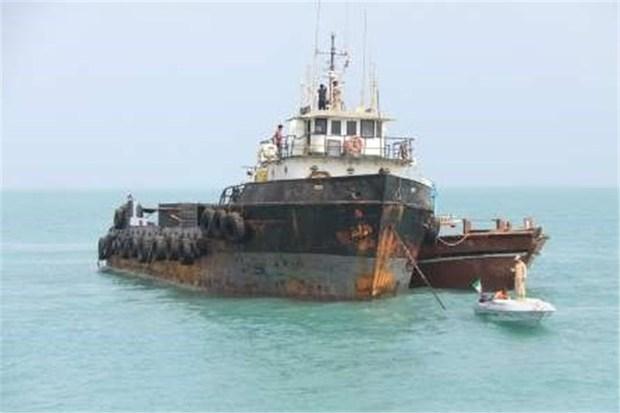 کشف بیش از 300 هزار لیتر سوخت قاچاق در آب های خلیج فارس