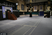مراسم عزاداری شب عاشورای حسینی(ع) در حسینیه امام خمینی(س)