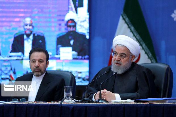 روحانی: حضور مردم قدرت ملی را نشان میدهد
