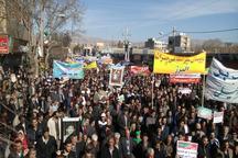 اعلام وفاداری مردم نهاوند به انقلاب اسلامی در سالروز 22 بهمن